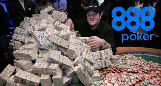 888 poker money
