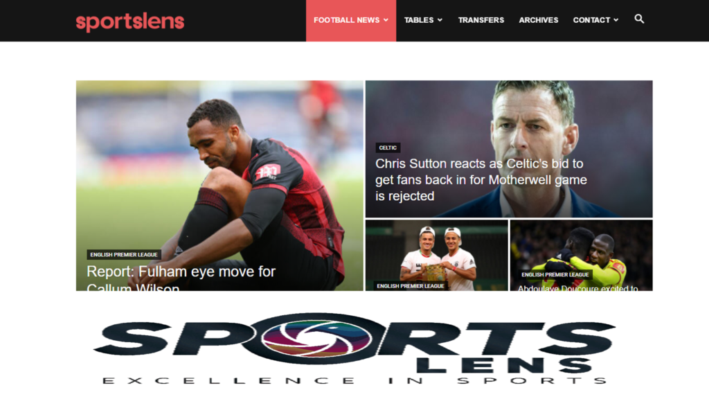 Sportslens site