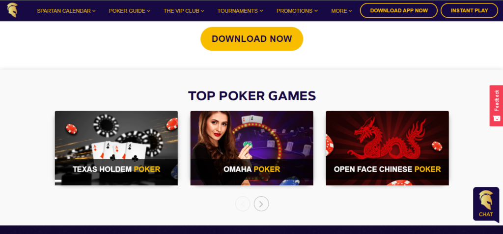 games on spartan poker